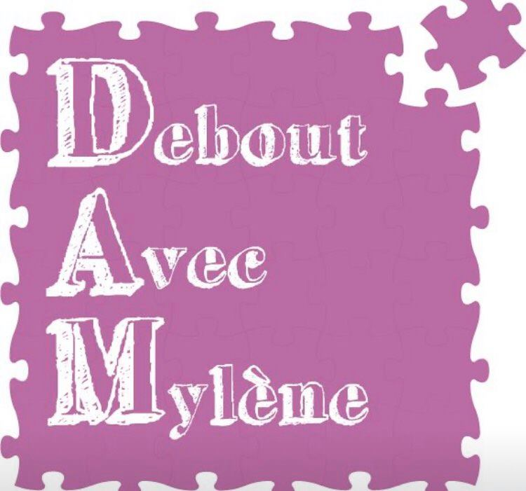 Logo association debout avec Mylène