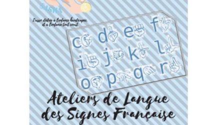 Cours de langue des signes
